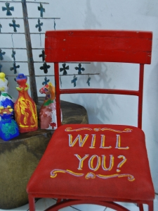 Red Chair.Repainted
