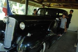 President Manuel L. Quezon car