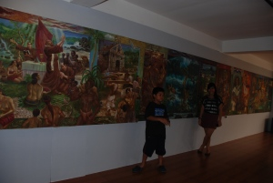 Paintings in Museo de Baler