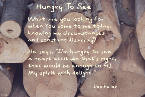 Poem from Deb's Blog - Dec. 23, 2010. Photo by bendedspoon.